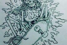 Tattoo ilustrações