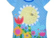 Summer Girl T-shirts / The Embroidered and Appliqued flowers on these girls' shirts are too cute. All Tee's are made from 100% Cotton.