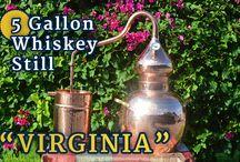 """""""Virginia"""" 5-GALLON MOONSHINE STILL"""