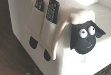 Porta controles ovelhas