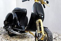Moped Vespa