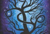 alberi intrecciati