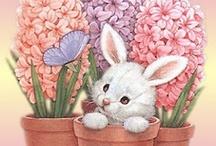Wielkanocne kartki / Easter cards / by Anna Kopczynska