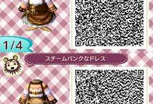 Animal Crossing: New Leaf - QR Codes