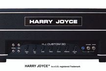 Harry Joyce Custom 30 Watt Guitar Amplifier / Harry Joyce Amplifiers are back and better than ever ! Experience the true sound of a Harry Joyce amplifier. Our H.J. Custom 30 Watt with rectifier tube is handwired and built in the U.S. with the best materials and components. Available at HarryJoyce.com Hear the difference