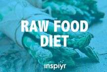 Raw Food Diet / Curious about the raw food diet? Here's everything you need to know, as well as some tasty recipes.