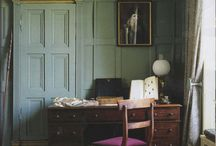 Writing Corners / Small, cozy spaces for writing, pondering, planning