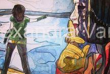 Персоны в образе -итальянская серия # art watercolor / Мои акварельные чувства ко всем кого я пишу и ко всему, что я проектирую,реализуя! Доказано, что человек во вселенной живет 3 секунды, но за счет общения и путешествий (также и в мир Интернета) человек продляет свою жизнь до 5-10 секунд... Но путем общения с искусством он входит в вечность...