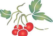 Fruit & Veg Stencils