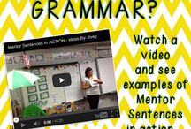 Learning to Write / Language Arts in grade five and six