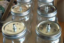 mason jar light / by crysia p