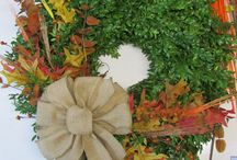 Fall Wreaths - NEW! / Check out our NEW Fall Items
