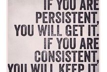 quote for being consistent