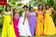 Nigerian Wedding| Bridesmaids Colours & Styles