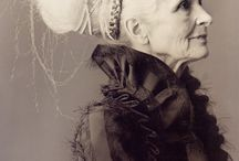 The Beauty of Grace  and  Age / Older women and their unique perspective. Beauty in wrinkles, wisdom in the eyes of age