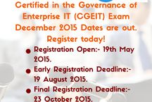 CGEIT Certification Training @Vinsys / Vinsys Conducts  Governance of Enterprise IT (CGEIT) Exam Training Worldwide. Vinsys has CGEIT Certified Expert Trainer, ISACA Accredited course material, Sample tests, 24x7 after training support  for your CGEIT Certification Exam Prep in your city.Join Now! http://vinsys.com/in/CGEIT-Exam-Certification-Training/