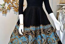Vintage / Butterfly skirt
