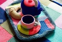 SET TEA CROCHET