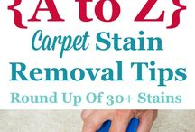 a to z carpet stain removal