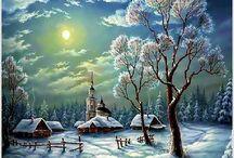 zimné fotky
