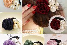 Цветочные волосы