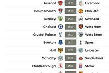 Jadwal Liga Primer Inggris / Jadwal Liga Primer Inggris musim 2016/2017 akan dimulai pada 13 Agustus 2016 .   Jadwal : www.premierleague.com