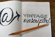 The Vintage Unscripted Blog