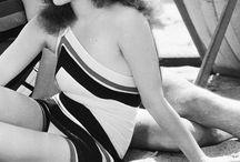 1920's swimwear storyboard / 1920's photo shoot
