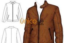 patrones de chaquetas para hombre
