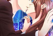 Anime Kisses / Besos Anime > . <
