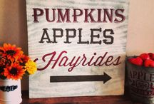 Fall Decor / Autumn and Harvest type decor for the home and outdoor.  / by Tawsha & Patti (organized CHAOS online)