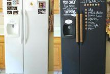 paint your fridge