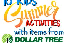 Easy DIY Summer Activities / A collection of kid friendly DIY summer activities.