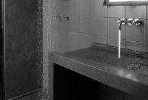 stone/concrete sink