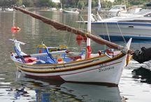 Ξύλινα σκαριά- Fishing boats