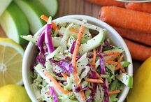 A Salads and Slaws / by Debi Carr