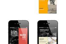 UI Design / Mobile App