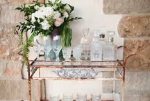 Make it a double / Ideas for the ultimate home bar cart