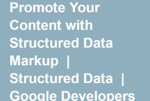 Structured data mark up