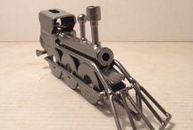 metal toys trains
