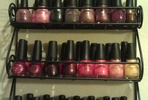 HANDY IDEAS / NAIL POLISH RACK