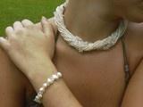 Necklaces by Irene Vogt www.perlenfischzuege.de / Colliers und sautoirs