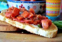 entrées italiennes / recettes italiennes salées