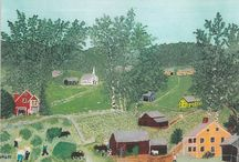 Art - Grandma Moses / by Mary Roberts
