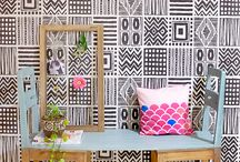 Home Decor / cozy, colorful, and creative house design, decoration