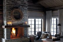 Cabin Home - Living Room Ideas