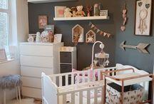 My little girl's woodland bedroom