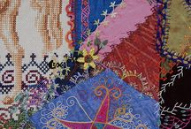 Crazy Quilts / Crazy quilting and mad quilt ideas