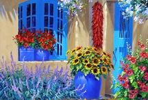 susan southern / Greek garden designs