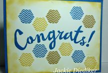 Honeycomb Hello Card Ideas / by Laurie Graham: Avon Rep